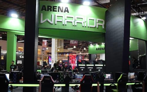 Warrior faz exposição de nova linha de produtos | BGS 2019