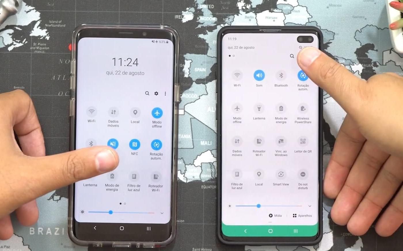 Android 10 beta disponível para testes nos Galaxy S10