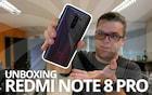 Xiaomi Redmi Note 8 Pro - Unboxing e primeiras impressões
