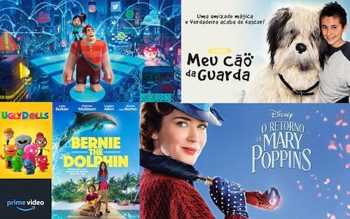 Filmes para toda a família que você encontra na Amazon Prime Video