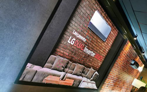 LG lança no Brasil linha de ar condicionados DUAL Inverter com comandos de voz