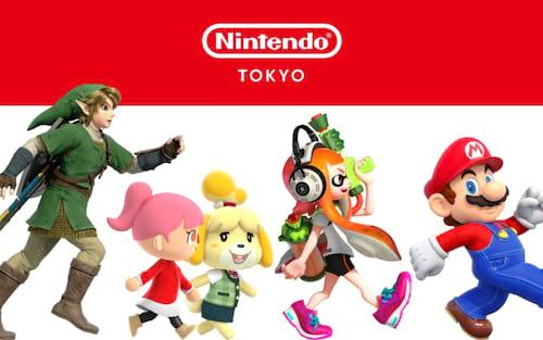 [Nintendo Tokyo Store] Nintendo irá abrir sua primeira loja física do Japão em Tóquio!