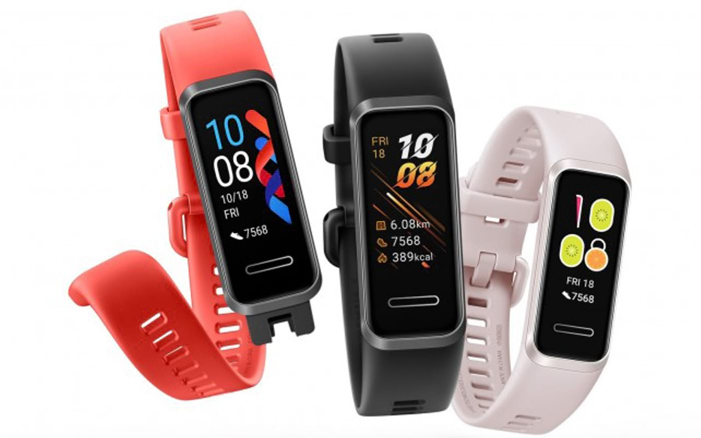 Huawei Band 4 é anunciada com tela colorida e carregamento via USB-A