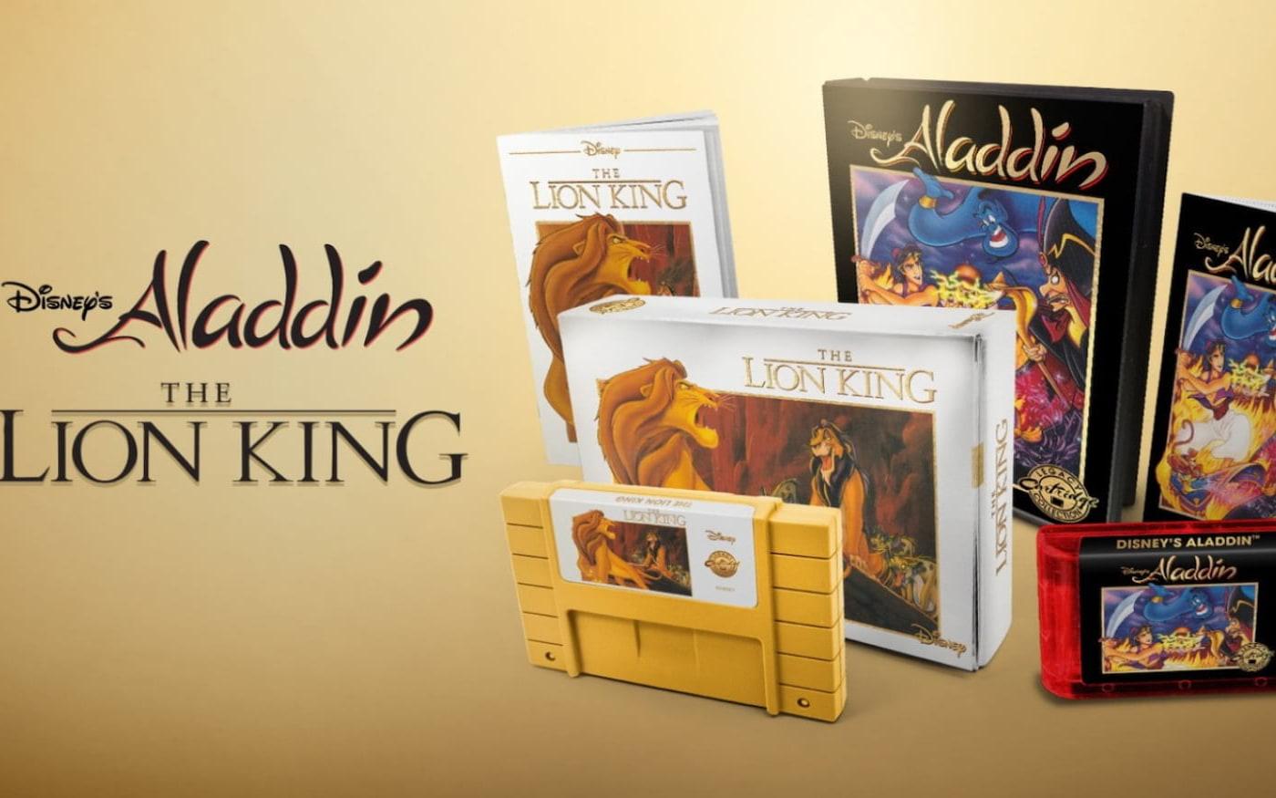 [Aladdin e Rei Leão] Os games clássicos da Disney serão relançados em sua mídia original