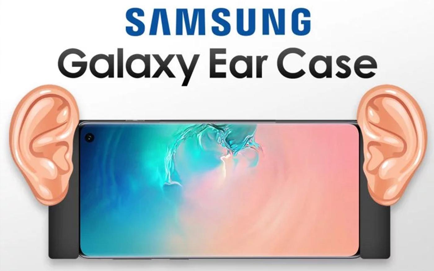 Como assim?! Samsung registra patente de case com orelhas humanas