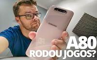 Será que o Samsung Galaxy A80 com Snapdragon 730 roda bem os jogos? - RODA LISO