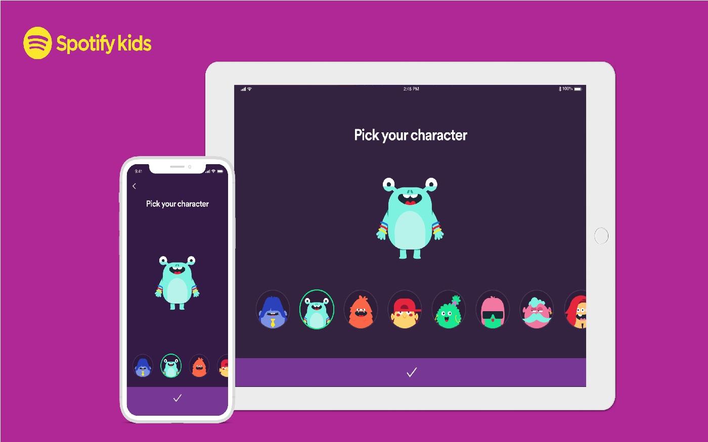 Spotify Kids chega em versão beta, como exclusivo do plano familiar