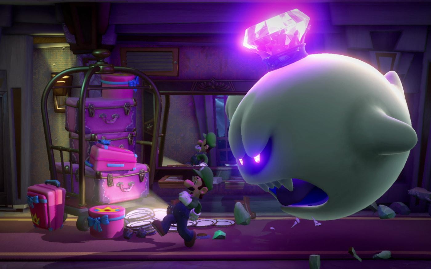 Luigi Mansion 3 já está disponível para Nintendo Switch