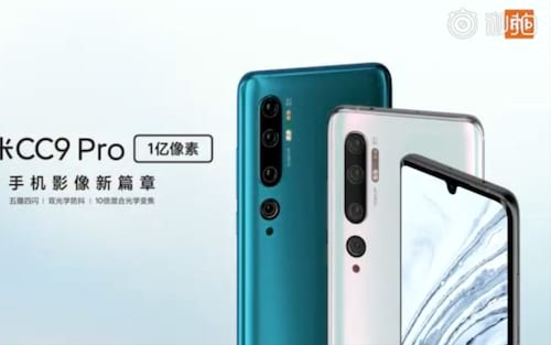Xiaomi Mi CC9 Pro chegará com processador Snapdragon 730G