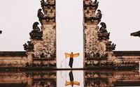Foto no templo de Bali é falsa: veja como é feita