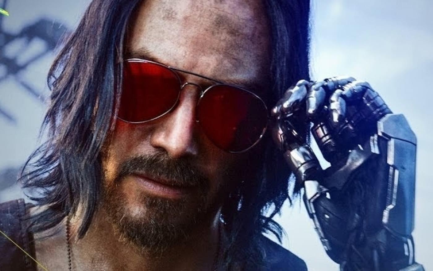 Cyberpunk 2077 terá o dobro de participação de Keanu Reeves do que o planejado