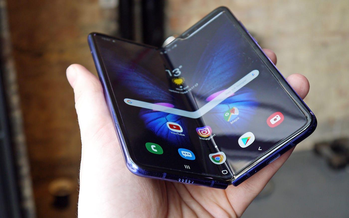 Samsung irá aumentar a produção de smartphones dobráveis em 2020