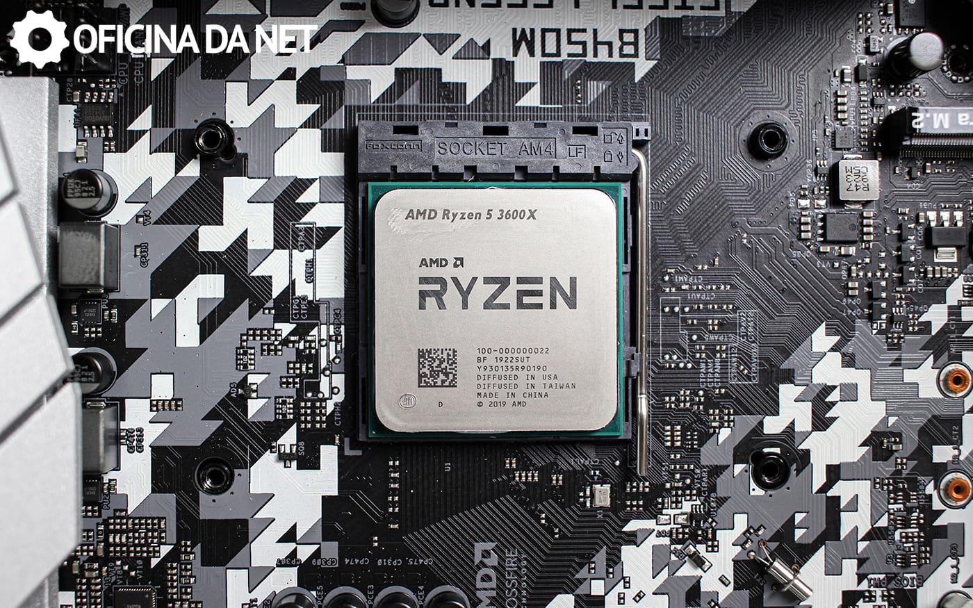 Análise Ryzen 5 3600X - O melhor processador intermediário