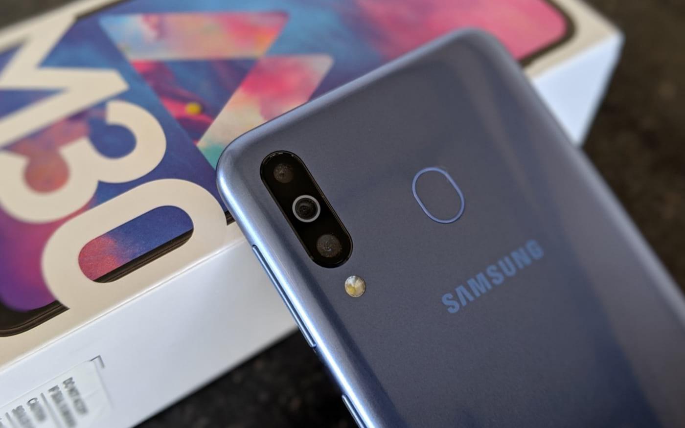 Galaxy M20 e M30 são certificados com Android 10