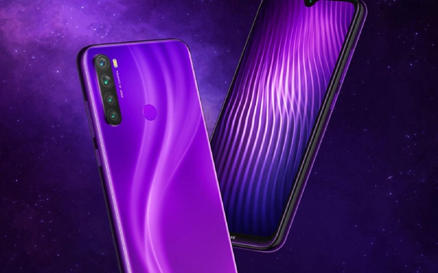 Redmi Note 8 recebe mais uma opção de cor, a Nebula Purple