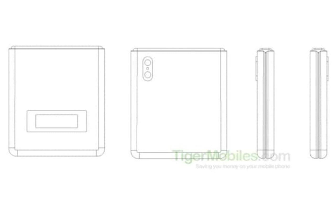 Xiaomi patenteia smartphone dobrável estilo Motorola RAZR 2019