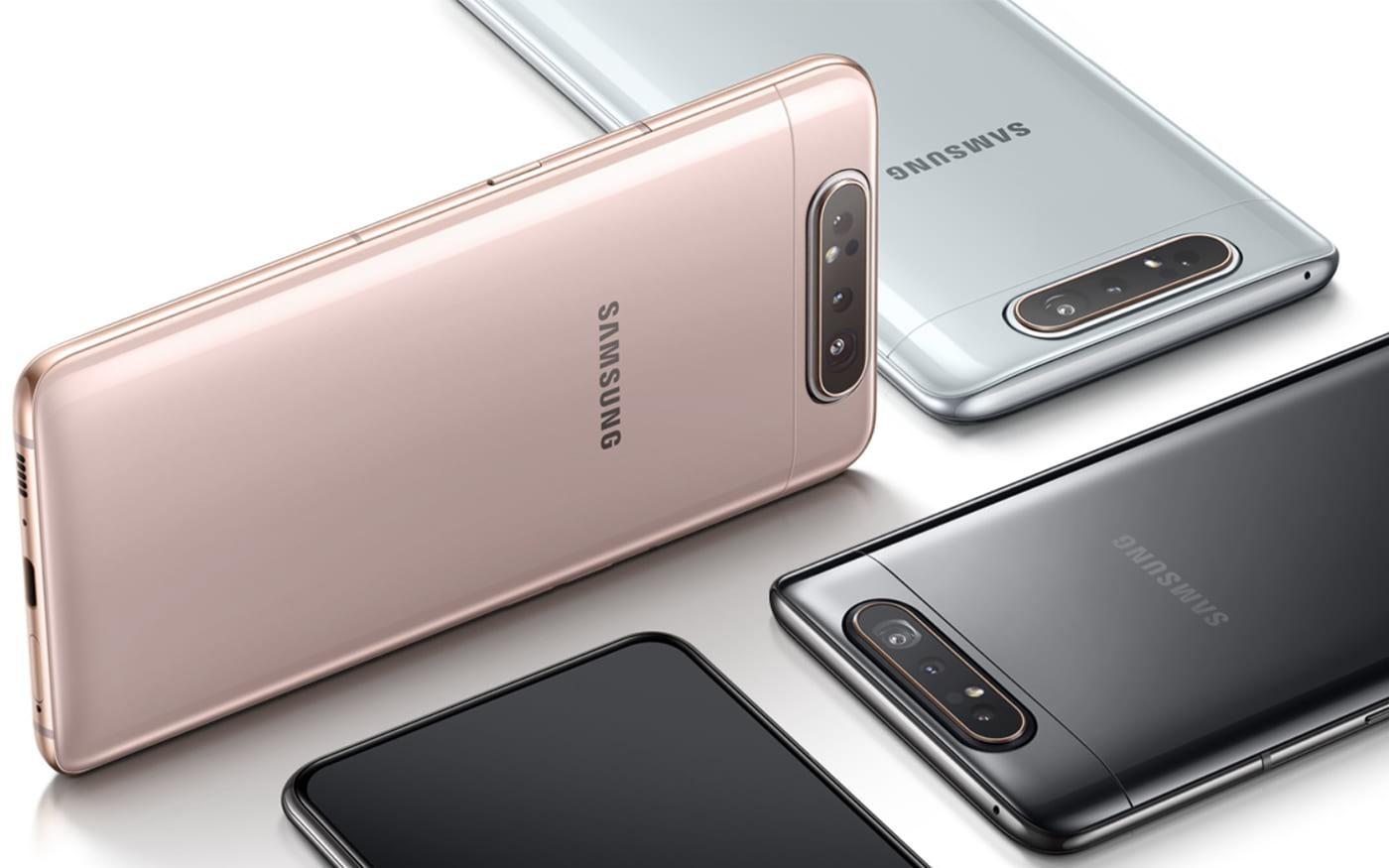 Galaxy A80 pode ganhar variante com 256GB em breve