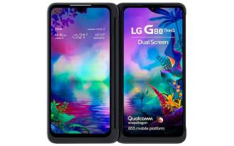 As duas telas OLED do LG G8X