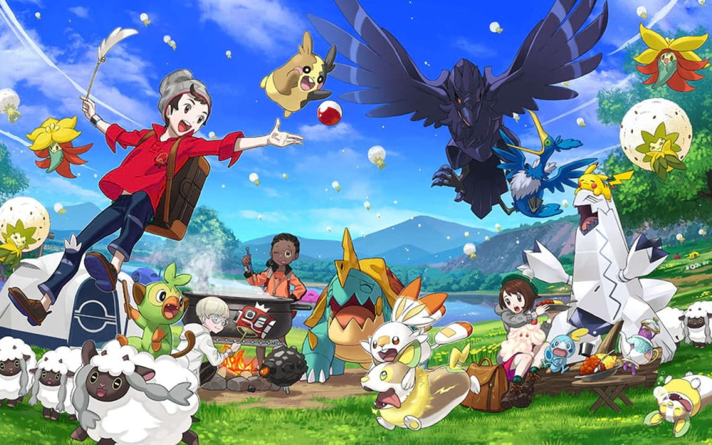 Pokémon Sword and Shield bate Super Smash Bros Ultimate em vendas
