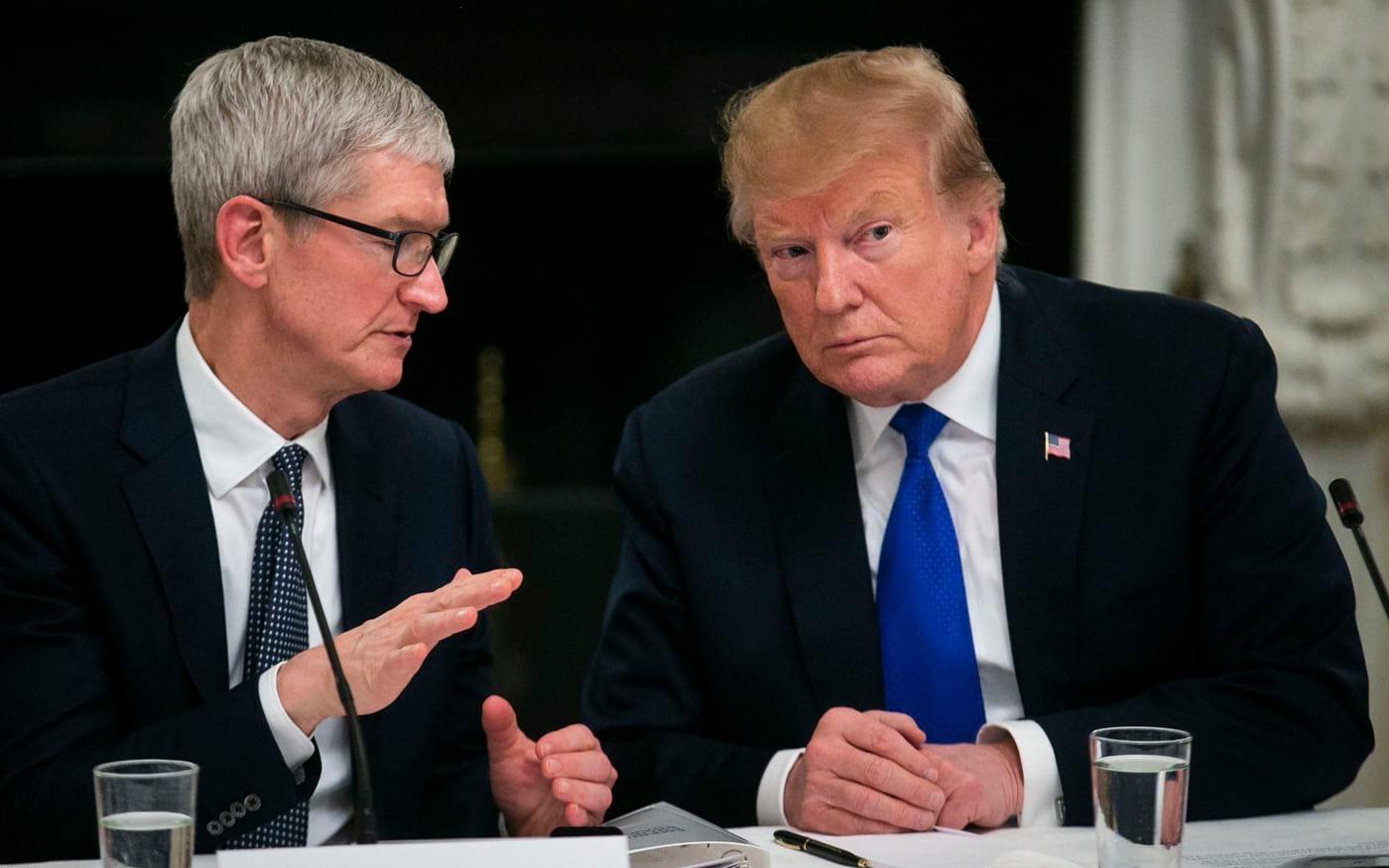 Trump se incomoda com a Apple e a morosidade sobre a adoção do 5G