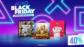 Banner de Black Friday da Playsation Store. Fonte: Playstation Blog