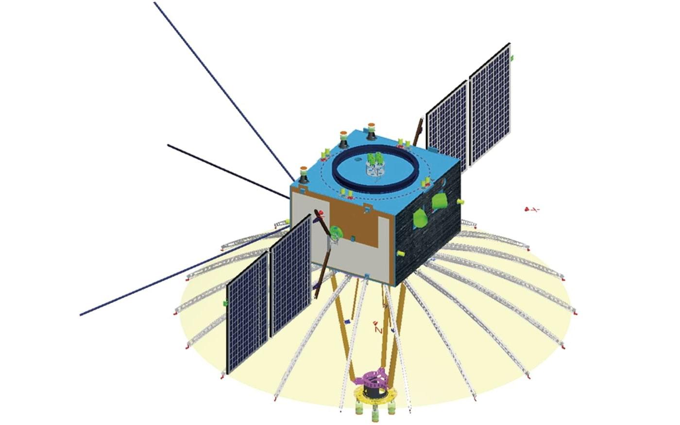 Ilustração do NLCE - Chinese Aerospace Science and Technology Corp.
