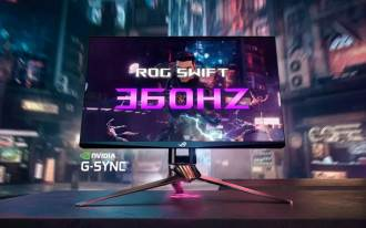 Asus ROG Swift 360Hz: Monitor gamer de 360Hz projetado para e-sports