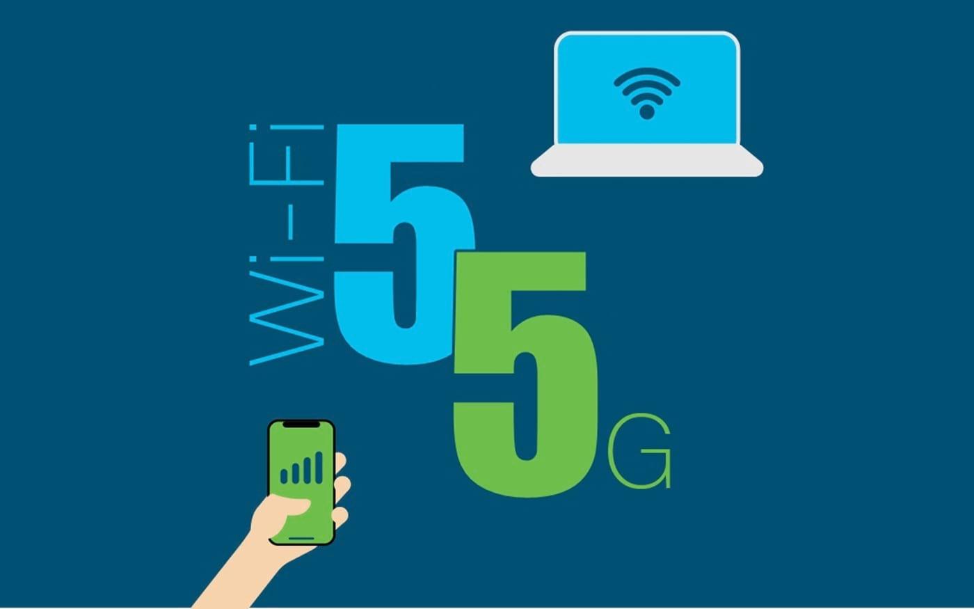 Qual é a diferença entre Wi Fi 20 20GHz e a internet 20G