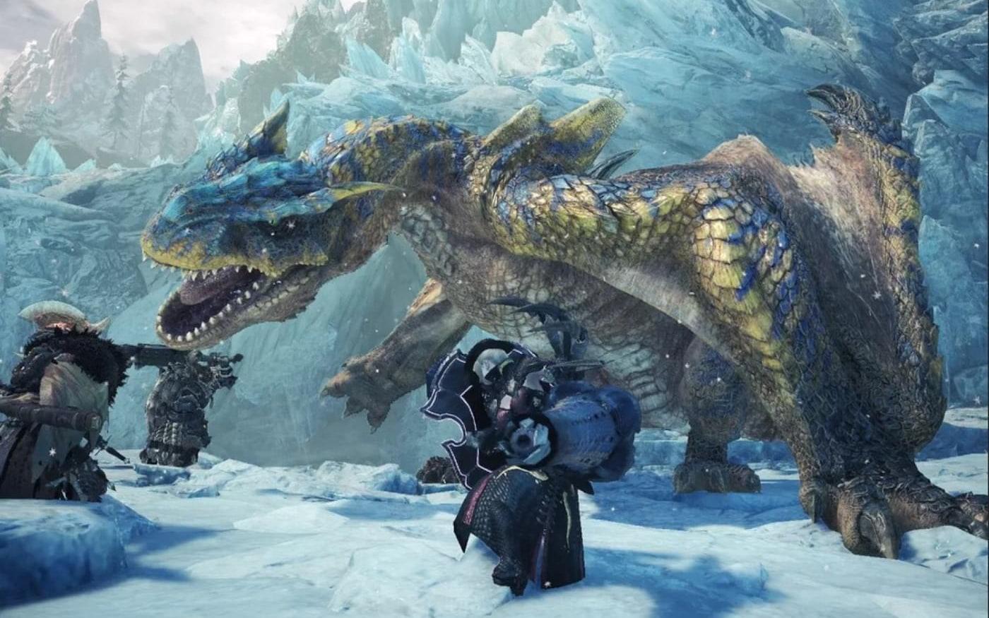 Monster Hunter World Iceborn atinge 285 mil jogadores simultâneos ...