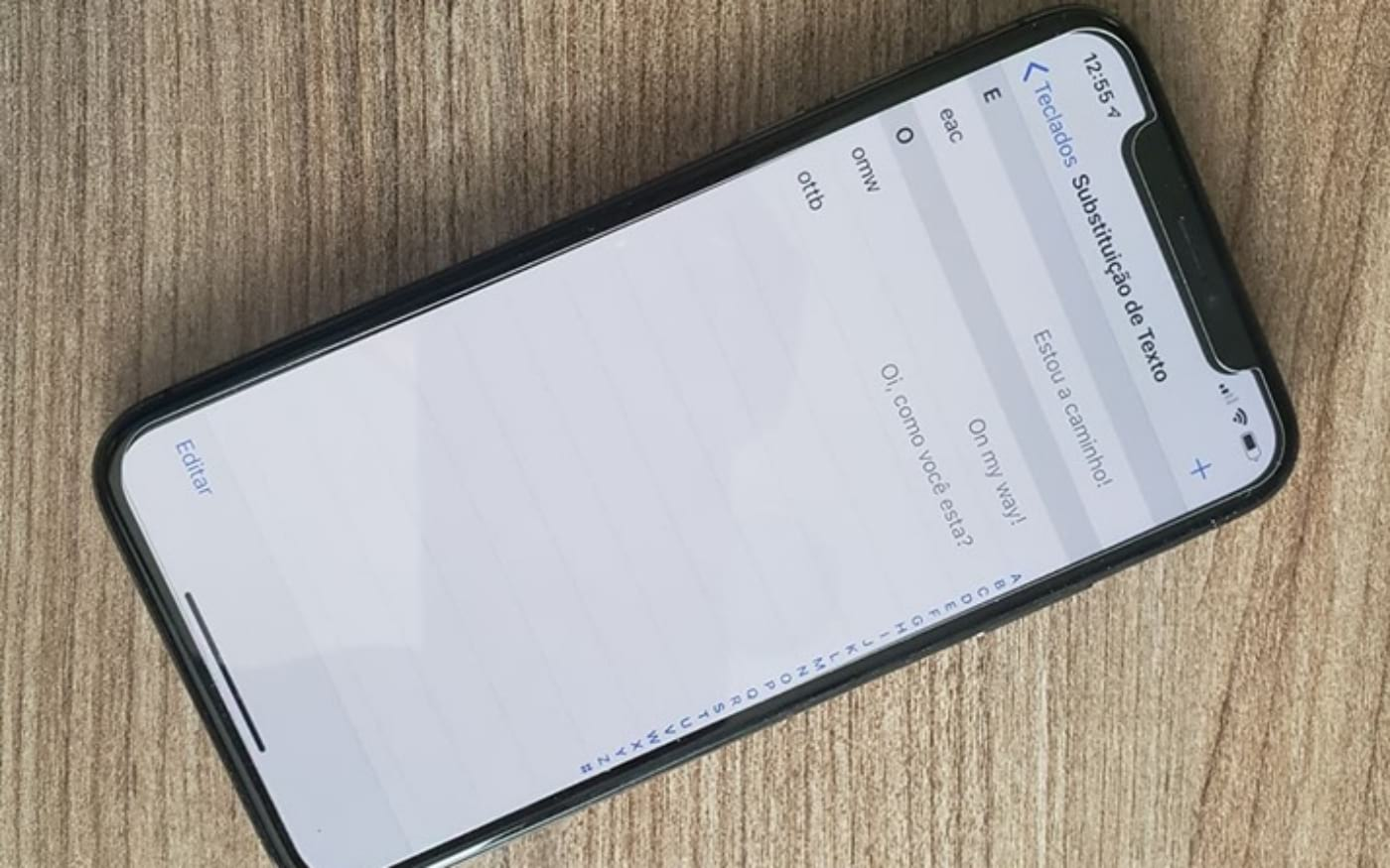 Como configurar o recurso secreto do teclado do iPhone