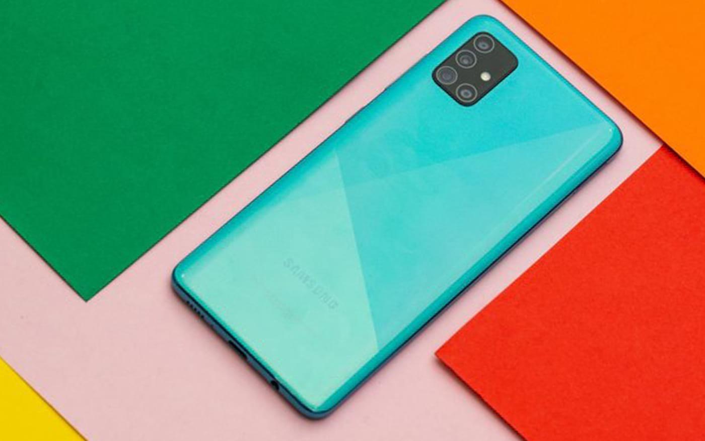 Galaxy A51 recebe sua primeira atualização de software