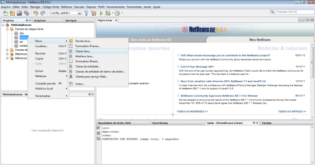 Criando um cadastro de usuário em Java
