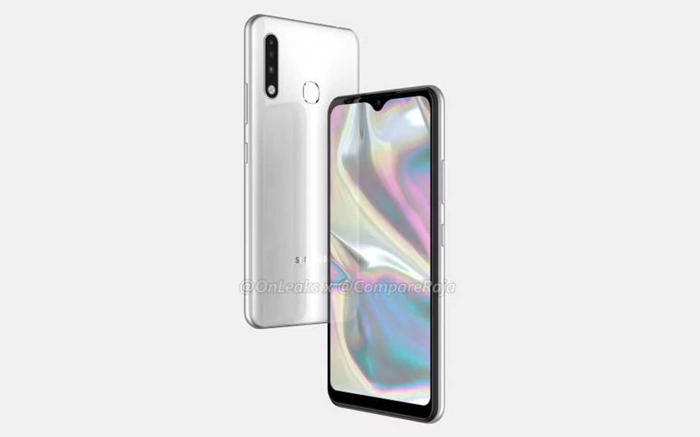 Renderizações revelam design do Galaxy A70e