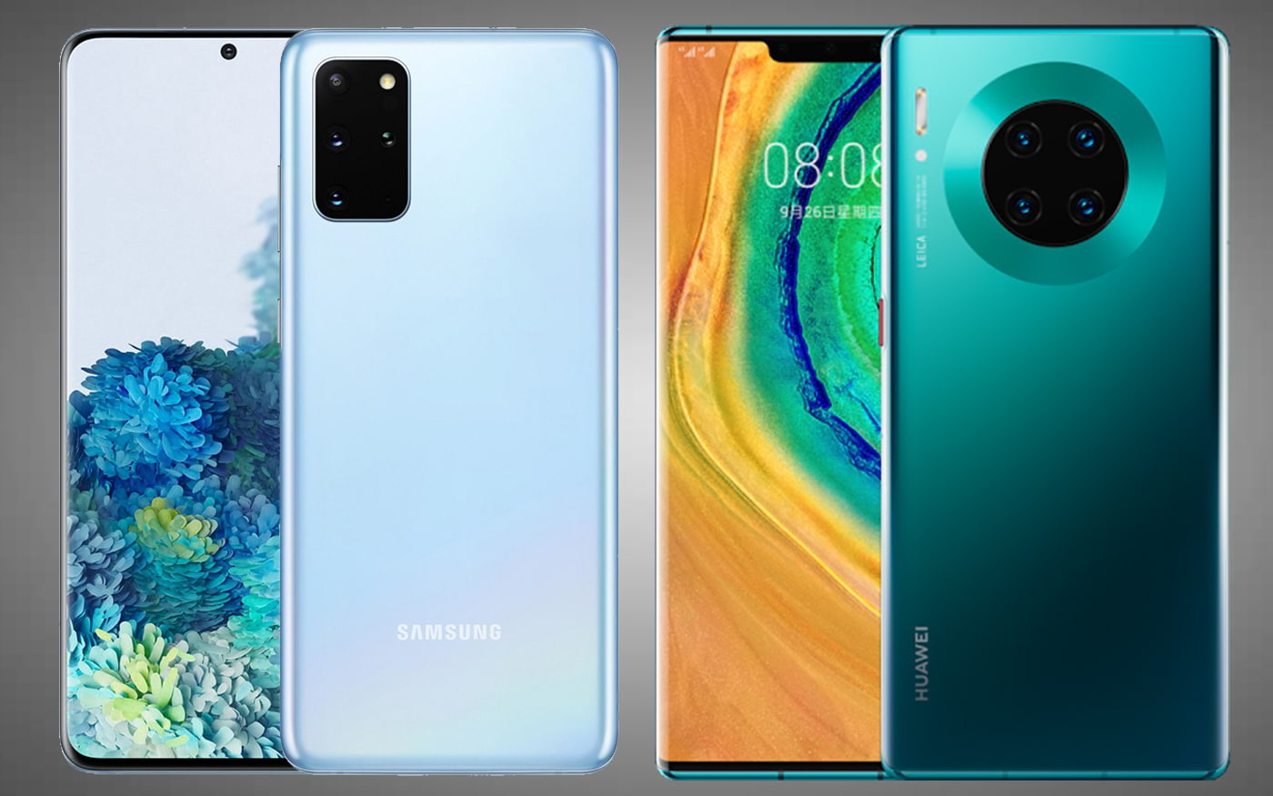 Comparativo: Galaxy S20+ vs Huawei Mate 30 Pro