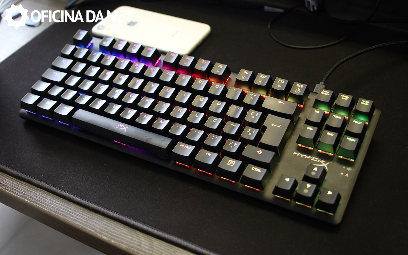 Review HyperX Alloy Origins Core com os novos switches da HyperX!