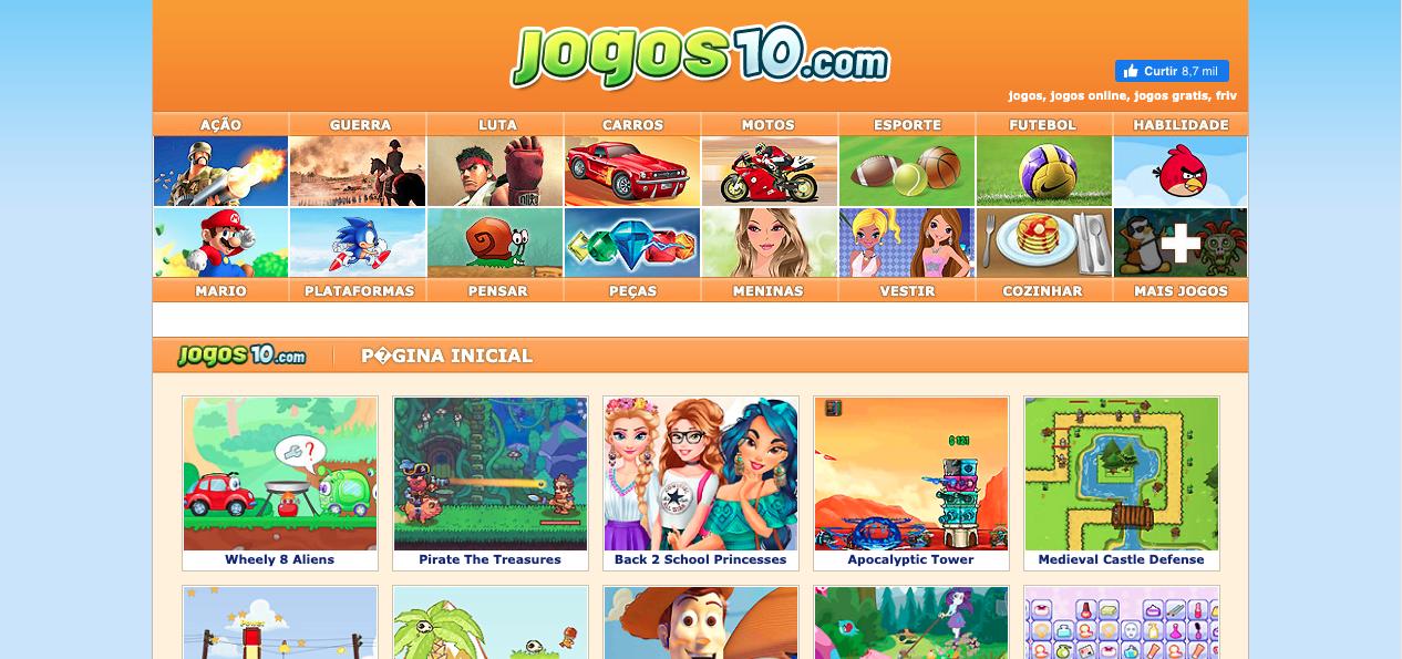 10 Sites De Jogos Online Gratis Para Passar O Tempo