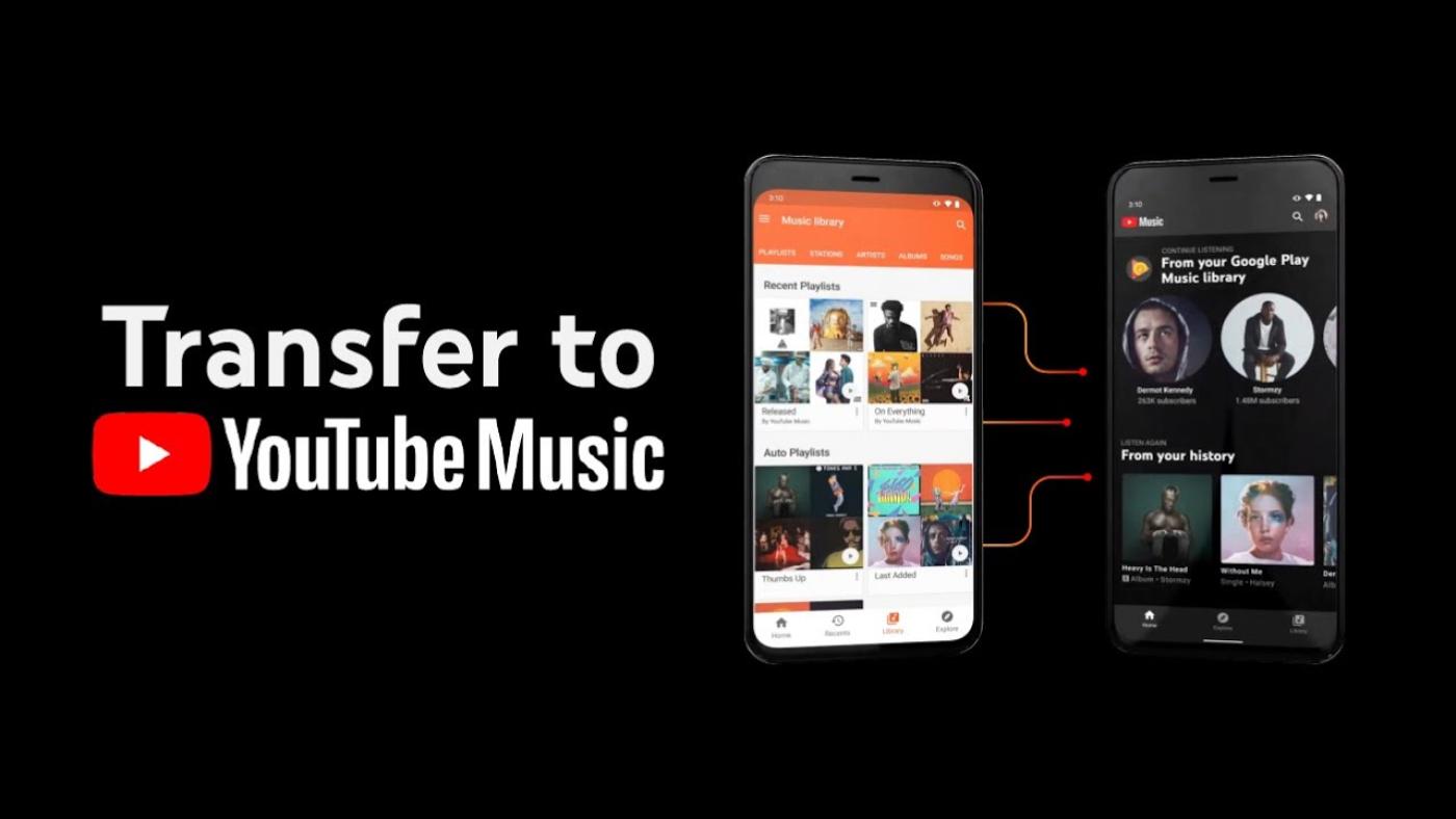 Como Transferir Todo O Seu Conteúdo Do Google Play Music Para O Youtube Music