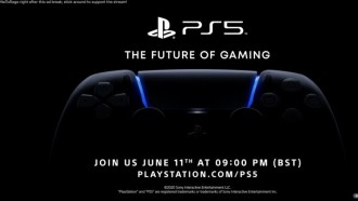 Evento PS5 - The Future of Gaming. Fonte: playstation
