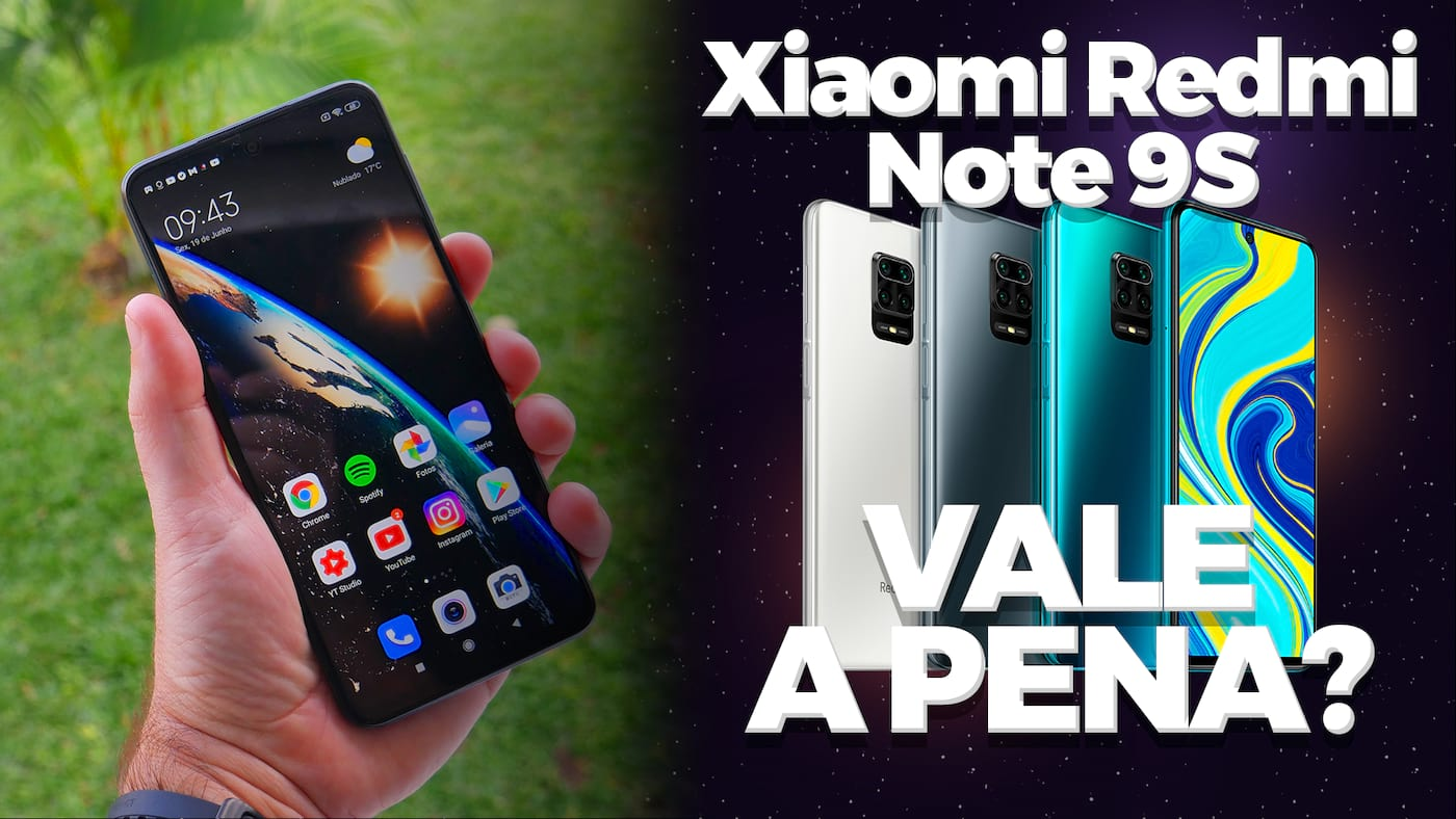 Xiaomi Redmi Note 9s: Vale a pena comprar? - Review
