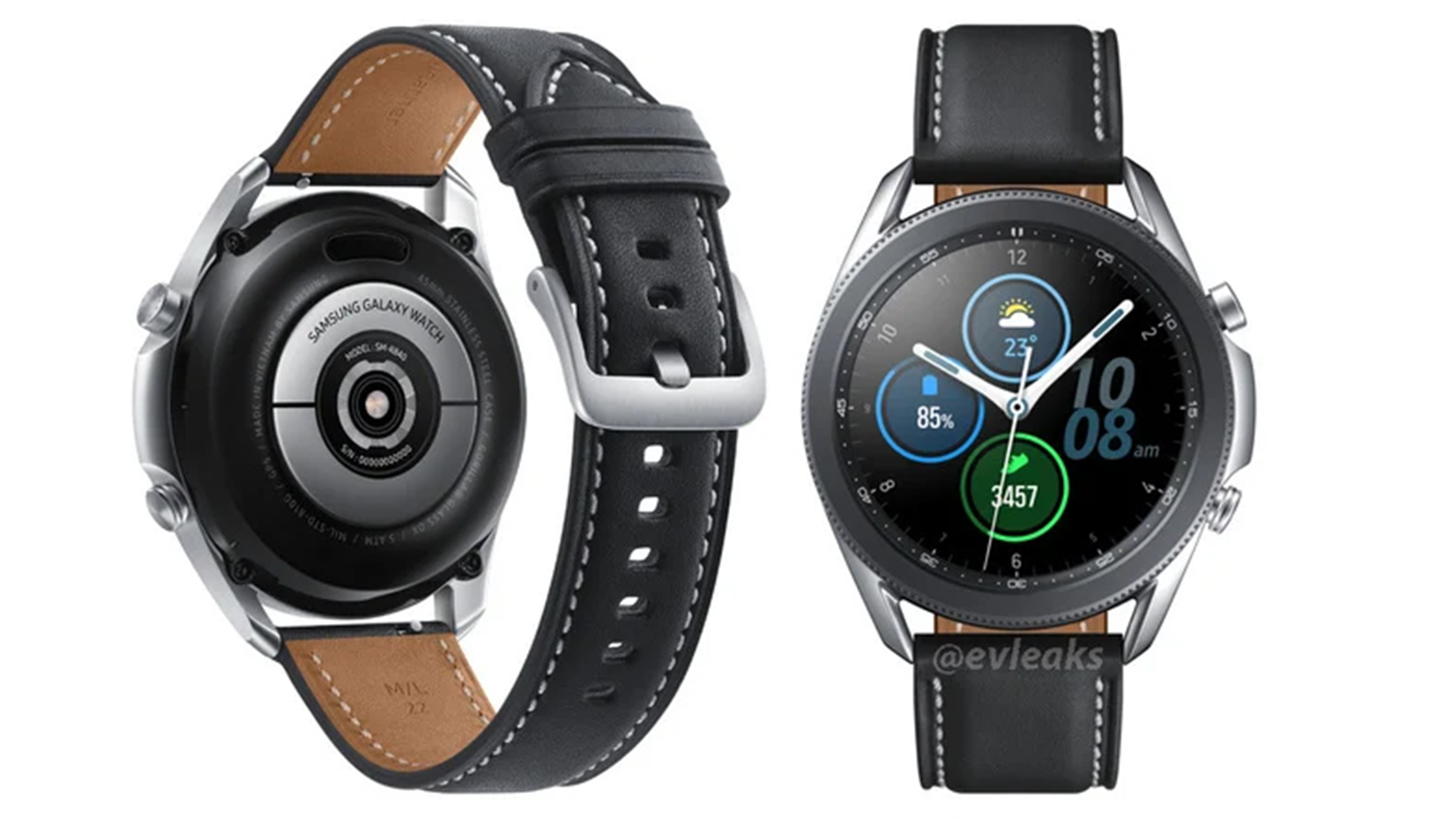 Imagem confirma design do Galaxy Watch 3
