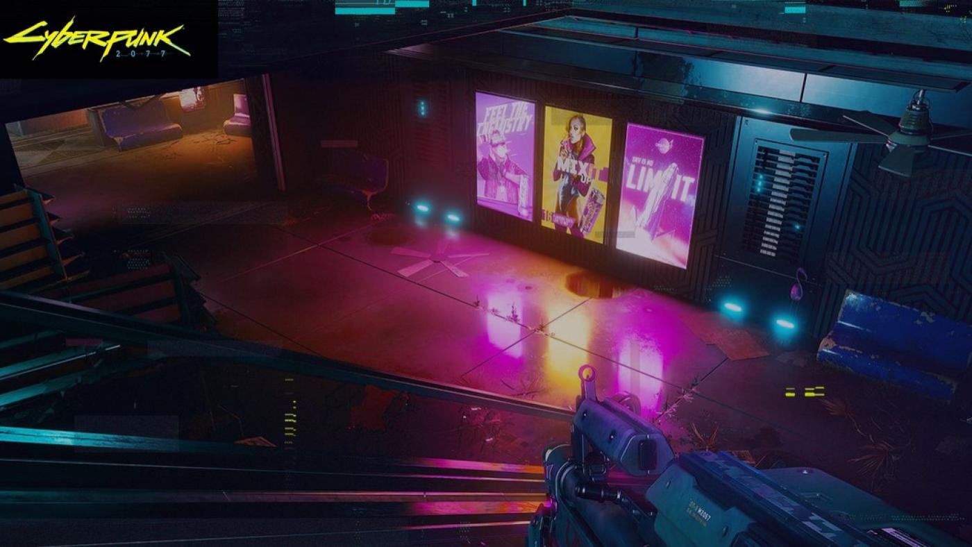 Cena de Cyberpunk 2077 com Ray Tracing. Fonte: Cyberpunk2077