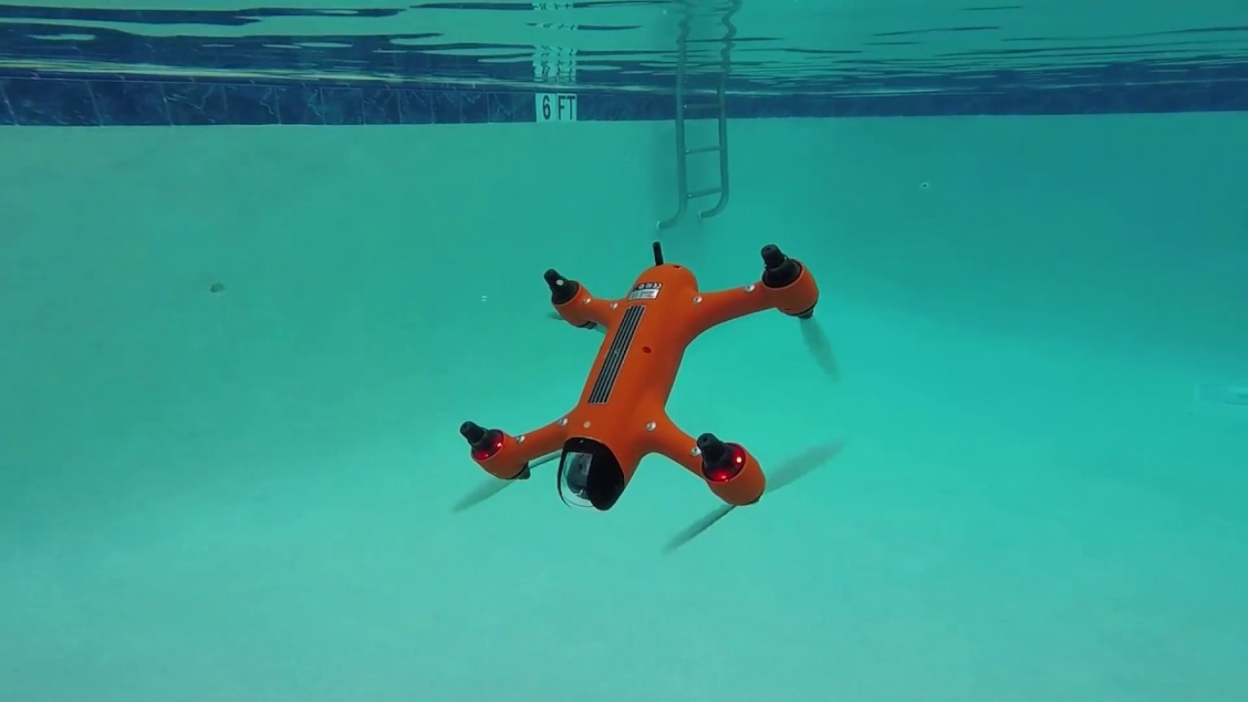 Drone  SwellPro Spry + . Fonte: Swellpro Waterproof Drones