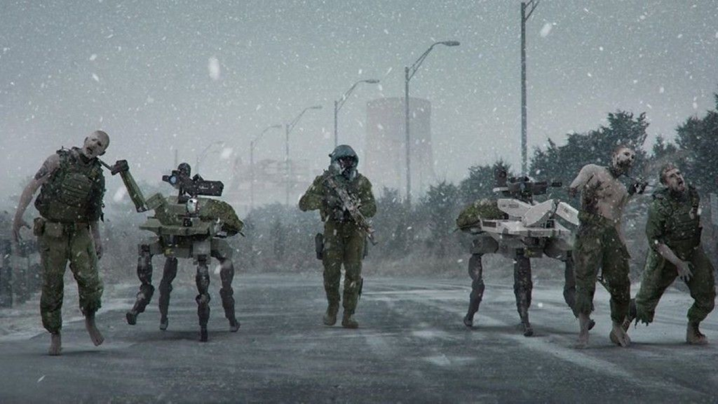 Arte conceitual do zombies mode em Call of Duty: Modern Warfare. Fonte: Aaron Beck (Instagram)