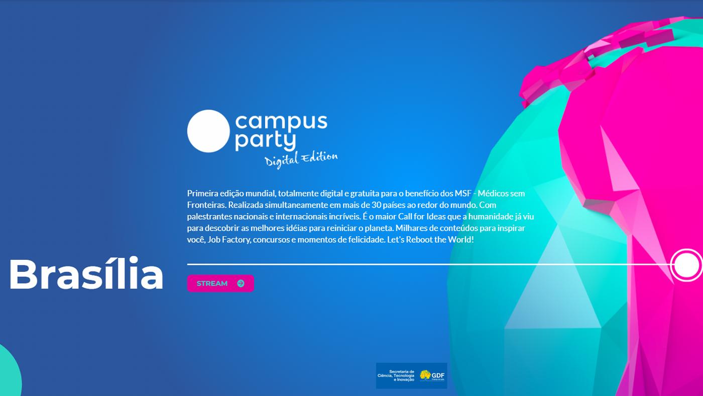 Campus Party Global online começa hoje