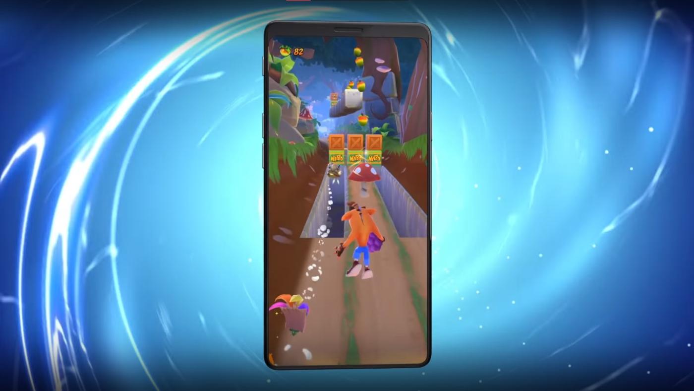 Crash Bandicoot: On the Run. Fonte: King (YouTube)