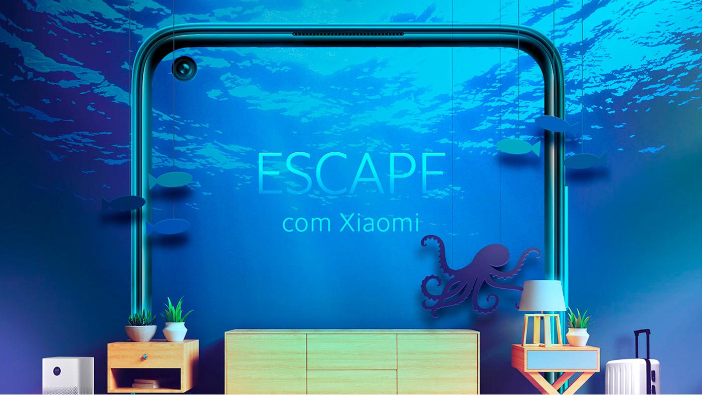 Você está participando da Promoção Escape com Xiaomi?
