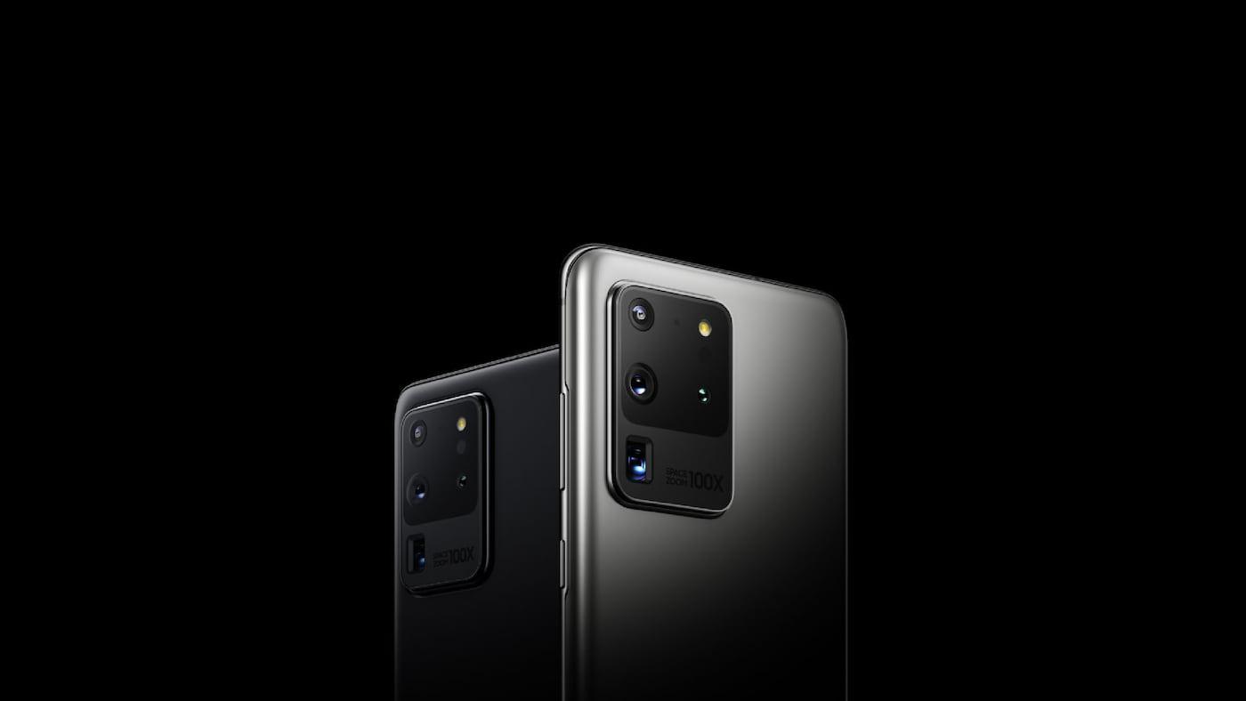 Galaxy S20 Ultra - Imagem promocional da Samsung