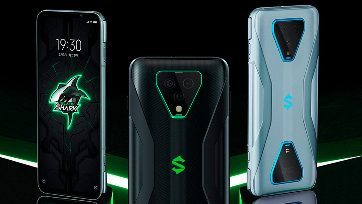 Depois do ROG Phone III e do Lenovo Legion Phone Duel, o Black Shark 3S vem ai!