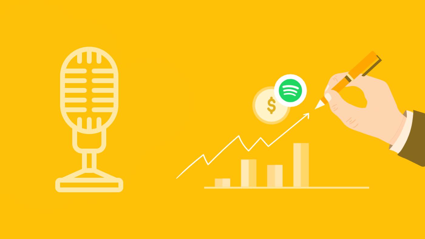 Como ganhar dinheiro criando podcasts no Spotify?