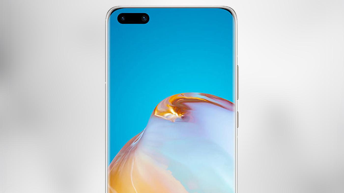 Huawei Mate 40 Pro: capa protetora revela câmera frontal dupla